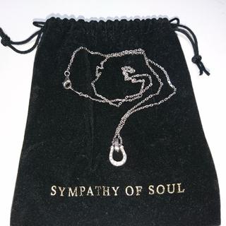 エスオーエスエフピー(S.O.S fp)のSYMPATHY OF SOUL(シンパシーオブソウル)(ネックレス)