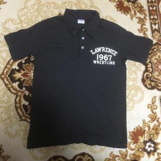 ダブルワークス(DUBBLE WORKS)のダブルワークス フロッキープリントポロシャツ LAWRENCE(ポロシャツ)