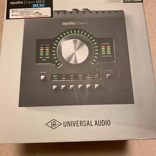 apollo twin MkII DUO universal audio(オーディオインターフェイス)
