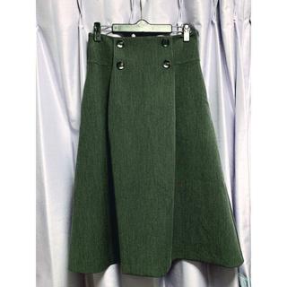 デミルクスビームス(Demi-Luxe BEAMS)の【新品】Demi-Luxe BEAMS ミモレ丈スカート(ひざ丈スカート)
