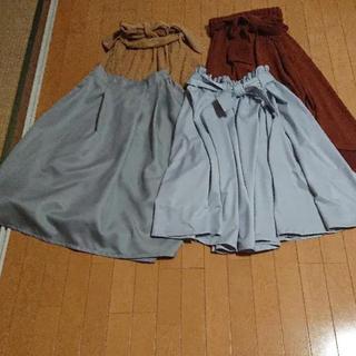 シマムラ(しまむら)のロングスカート(ロングスカート)