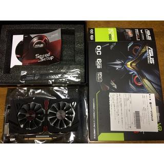 エイスース(ASUS)のASUS STRIX-GTX1060-DC2O6G(PCパーツ)