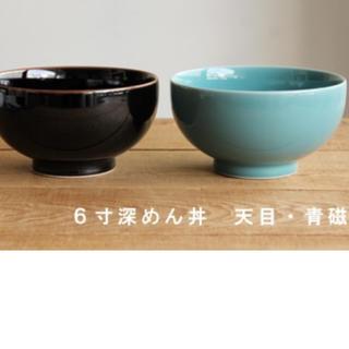 ハクサントウキ(白山陶器)の白山陶器 終わり深めん丼 おわんです。2個セットの値段です。(食器)