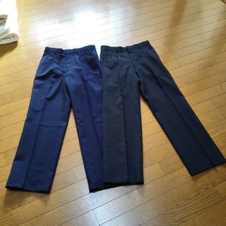 激安 美品スラックス2本セット(スラックス/スーツパンツ)