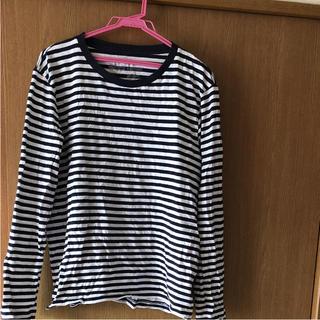 ムジルシリョウヒン(MUJI (無印良品))のボーダーロンT(Tシャツ/カットソー(七分/長袖))