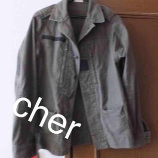 シェル(Cher)のcher ミリタリージャケット(ミリタリージャケット)