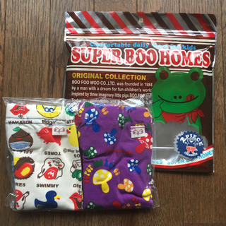 スーパーブーホームズ(SUPER BOO HOMES)の新品未開封 ブーホームズ 80㎝ ストレッチレギンスパンツ(パンツ)