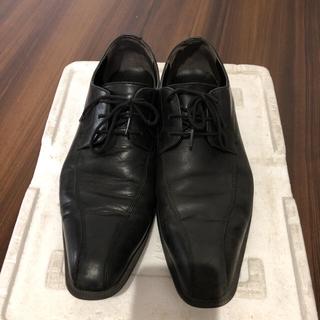 チヨダ(Chiyoda)のチヨダ ハイドロテック 黒 革靴 ビジネスシューズ 26(ドレス/ビジネス)