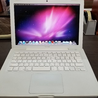 マック(Mac (Apple))のMacBook Late2007 13.3インチ 160GB(ノートPC)