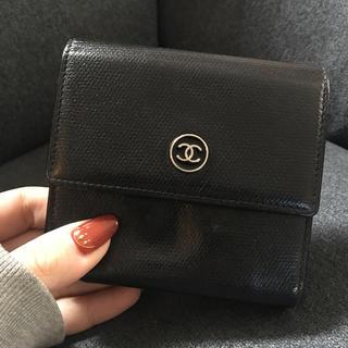 シャネル(CHANEL)のCHANEL ココボタン 折りたたみ財布(財布)
