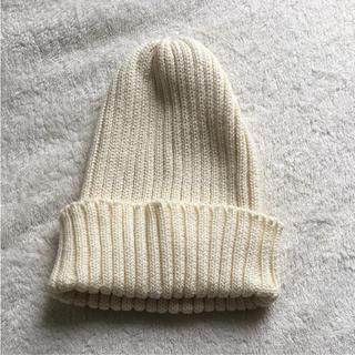 ロンハーマン(Ron Herman)のMORRIS&SONS  ニット帽  ロンハーマン イギリス製(ニット帽/ビーニー)