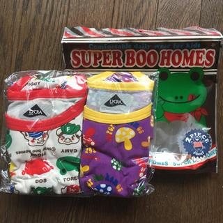 スーパーブーホームズ(SUPER BOO HOMES)の新品未使用 110センチ ブーホームズ ストレッチ半袖ティーシャツ(Tシャツ/カットソー)