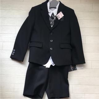 シマムラ(しまむら)の男の子 フォーマルスーツ 120cm♡4点セット(ドレス/フォーマル)