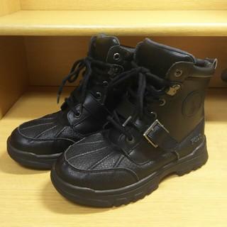 ポロラルフローレン(POLO RALPH LAUREN)のブラック ブーツ 20cm 良品☆(ブーツ)