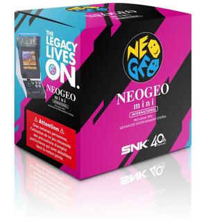 ネオジオ(NEOGEO)の入手困難 ネオジオミニ インターナショナル版 新品未使用未開封 2台セット(家庭用ゲーム機本体)