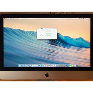 マック(Mac (Apple))の【美品】iMac 5K 27インチ Late 2015 Apple アップル(デスクトップ型PC)