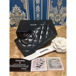 シャネル(CHANEL)の美品!! 正規品 シャネル マトラッセ 長財布 カンボン A26717(財布)