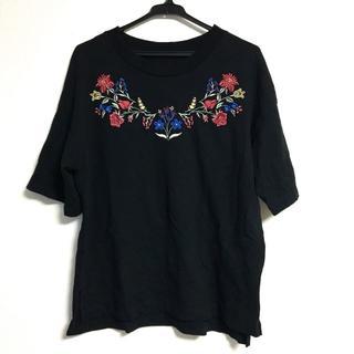 ジーユー(GU)のGU ジーユー エンブロイダリーT(Tシャツ(半袖/袖なし))