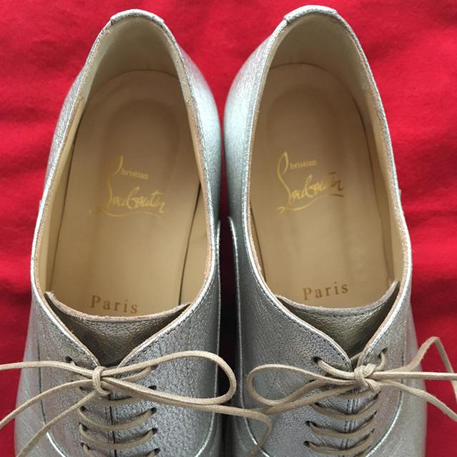 Christian Louboutin(クリスチャンルブタン)のクリスチャンルブタン レースアップシューズ     ドゥーズィエムクラス  レディースの靴/シューズ(ローファー/革靴)の商品写真