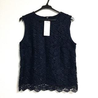 ユニクロ(UNIQLO)のUNIQLO ユニクロ レースノースリーブT(Tシャツ(半袖/袖なし))