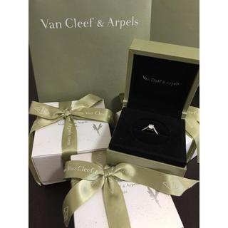 ヴァンクリーフアンドアーペル(Van Cleef & Arpels)の❇︎ヴァンクリーフ&アーペル エンゲージリング❇︎(リング(指輪))