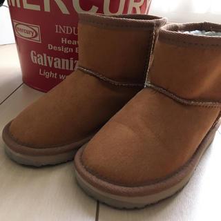 ムジルシリョウヒン(MUJI (無印良品))の無印良品  ブーツ 18〜19センチ(ブーツ)