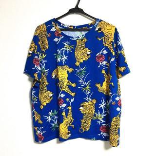 ザラ(ZARA)のZARA ザラ タイガープリントTシャツ(Tシャツ(半袖/袖なし))