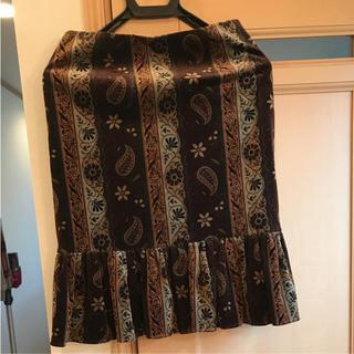 ナネットレポー(Nanette Lepore)の膝丈ベッチン素材のスカート(ひざ丈スカート)