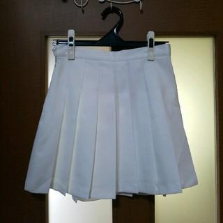ミックスエックスミックス(mixxmix)のmixxmix テニススカート  白(ミニスカート)
