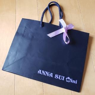 ANNA SUI mini リボン付き ショップ袋 ショッパー