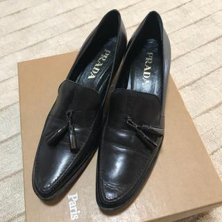 プラダ(PRADA)のプラダ ローヒール ローファー(ローファー/革靴)