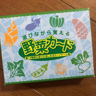 遊びながら覚える野菜カード(カルタ/百人一首)