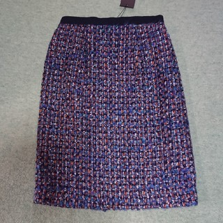 イランイラン(YLANG YLANG)の定価22000 イランイラン ツイードスカート(ひざ丈スカート)
