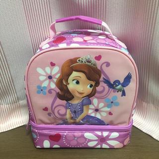 ディズニー(Disney)の日本未入荷✴︎プリンセスソフィア✴︎ランチバッグ✴︎サブバッグ(通園バッグ)