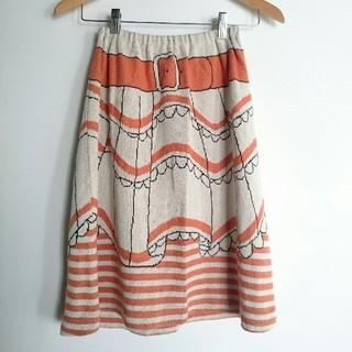 ツモリチサト(TSUMORI CHISATO)の⑤④美品!TSUMORI CHISATOスカート(ひざ丈スカート)