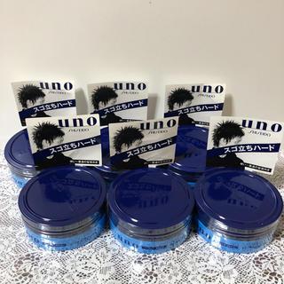 ウーノ(UNO)の新品 ウーノ ウルトラソリッド 6個(ヘアワックス/ヘアクリーム)