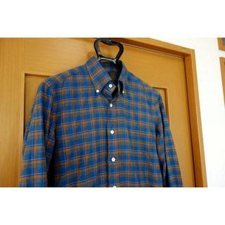 バルバ(BARBA)の【美品】エリコフォルミコラ チェック柄ボタンダウンシャツ(シャツ)