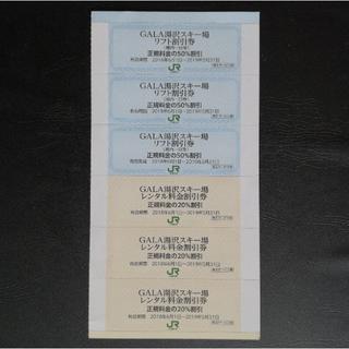 ガーラ湯沢スキー場 リフト・レンタル割引券(ウィンタースポーツ)