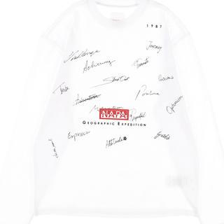 ナパピリ(NAPAPIJRI)のnapapijri tシャツ(Tシャツ/カットソー(七分/長袖))