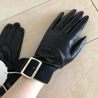 クロエ(Chloe)のクロエ ラムレザーグローブ(手袋)