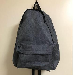 ムジルシリョウヒン(MUJI (無印良品))の無印良品 肩の負担を軽くするPCポケット付きリュック 撥水(リュック/バックパック)