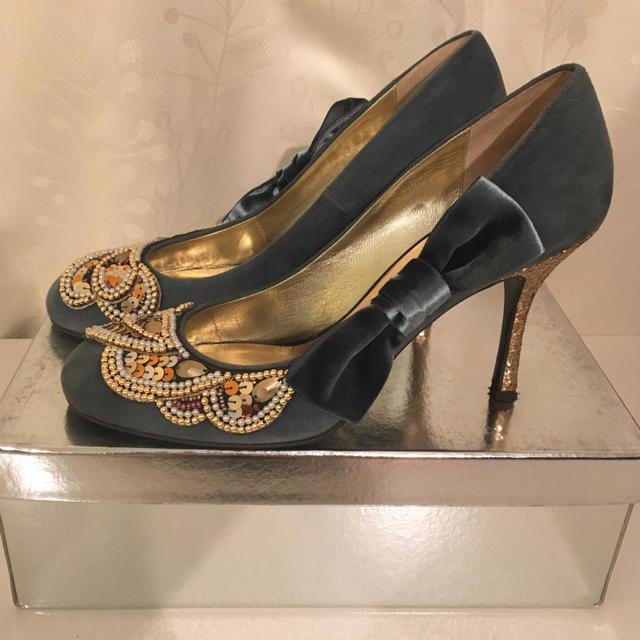 Odette e Odile(オデットエオディール)のパンプス オデット オ ディエール  UNITED ARROWS レディースの靴/シューズ(ハイヒール/パンプス)の商品写真