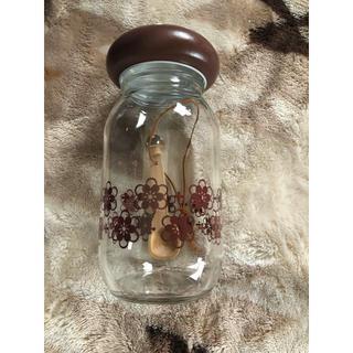 チョコホリック(CHOCOHOLIC)のレトロきのこ詰め瓶*(収納/キッチン雑貨)