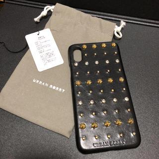 アーバンボビー(URBANBOBBY)のURBAN BOBBY iPhoneX ケース ブラック(iPhoneケース)
