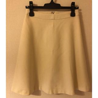 アンレクレ(en recre)のアン レクレ フレアースカート 38(ひざ丈スカート)