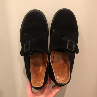 ドクターマーチン(Dr.Martens)のマーチン スウェードシューズ(ローファー/革靴)