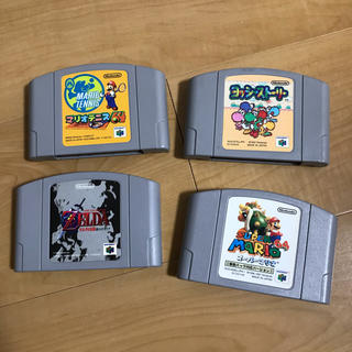 ニンテンドウ64(NINTENDO 64)の«Nintendo64»ソフト(家庭用ゲームソフト)