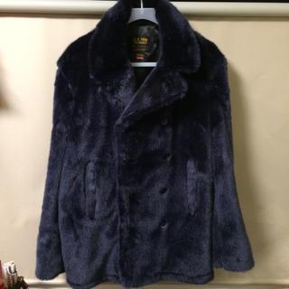 シュプリーム(Supreme)のSupreme®/Schott® Faux Fur Peacoat ショット L(ピーコート)