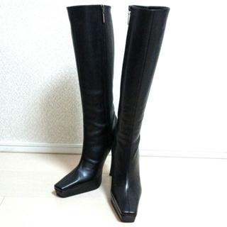 コメックス(COMEX)の未使用品 コメックス 23cm ブラックロングブーツ(ブーツ)