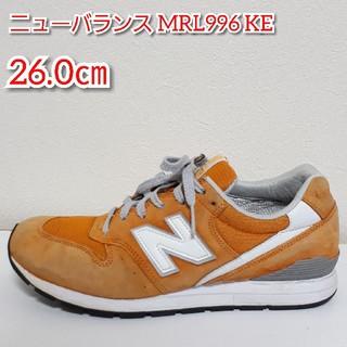 f6f581f3a50da ニューバランス(New Balance)のニューバランス MRL996 KE (ORANGE) オレンジ(スニーカー)
